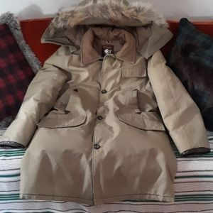 Vintage Deacon Brothers down coat
